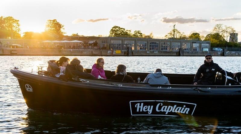Kanalrundfart og havnerundfart i københavn med Hey Captain