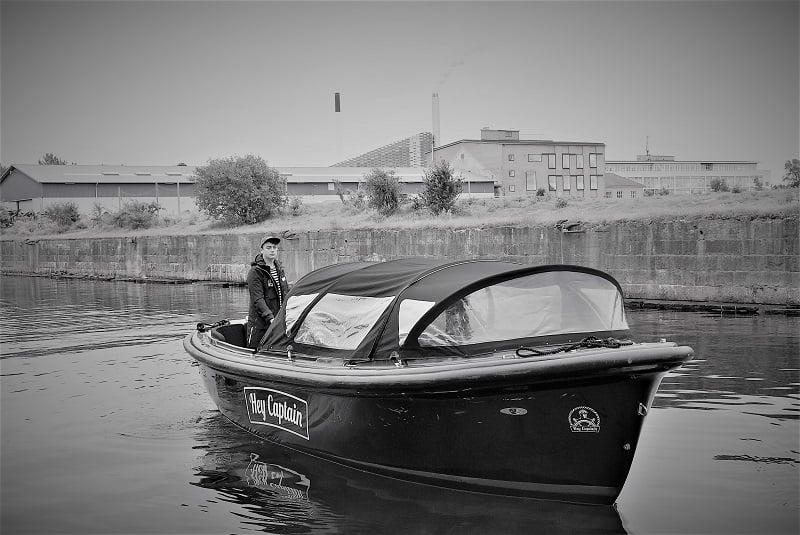 Hey Captain kanalrundfart og havnerundfart i københavn